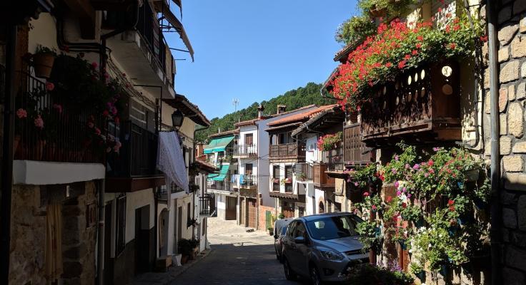 Cuevas del valle Sierra de Gredos