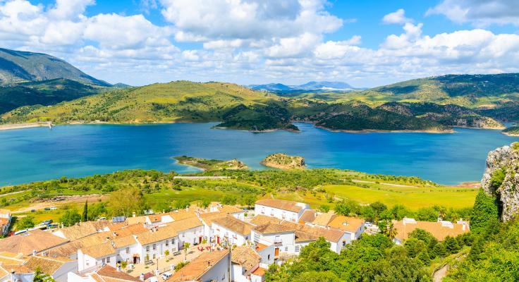 sierra grazalema dorpen zahara lago