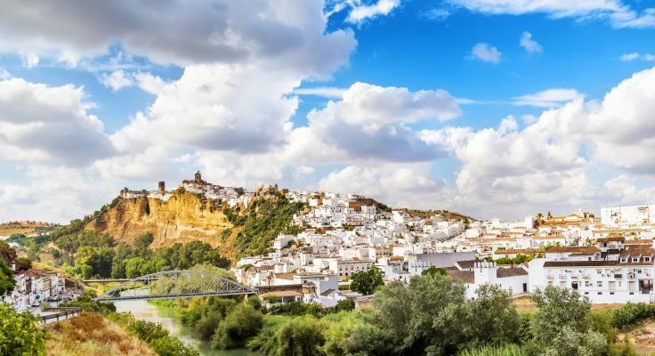 witte dorpen sierra grazalema arcos de la frontera