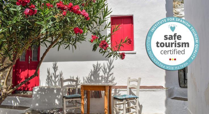Casa rural con sello safe tourism certified